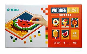 Мозаика Cubika Wooden pixel 6 Sweets 14927 Разноцветный