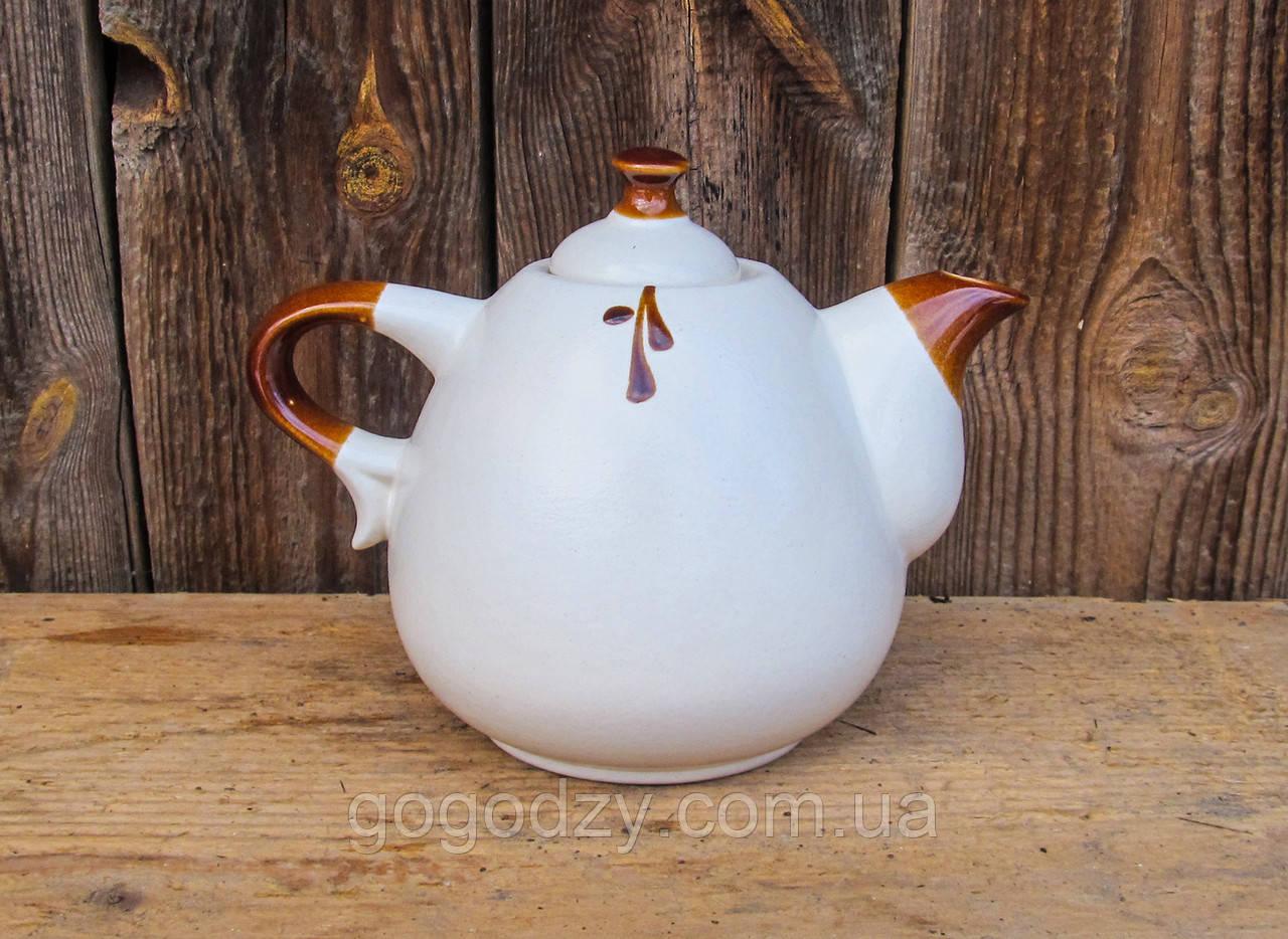 Чайник Крапля 800 мл, білий