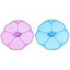 Силиконовая крышка Цветок 19см
