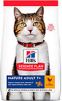 Hill's SP Feline Mature Аdult 7+ с курицей, 3 кг