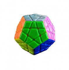 Головоломка мегаминкс QiYi MofangGe 0934C-2 QiYi X-Man Megaminx Stickerless Різнобарвний