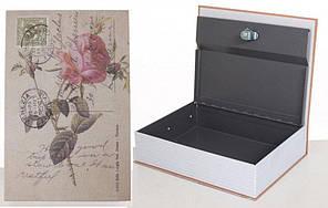Книга-сейф MaxLend MK 1847 Роза Разноцветный