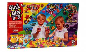 Набір креативного творчості Danko Toys 4 в 1 BIG CREATIVE BOX 7858DT