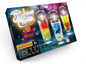 Комплект креативного творчості Danko Toys Гелеві свічки 6160