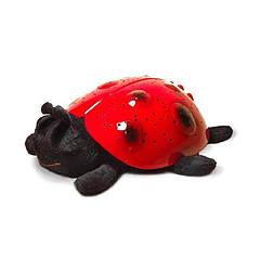 Ночник Metr+ ХС-1 Божья коровка Красный с черным