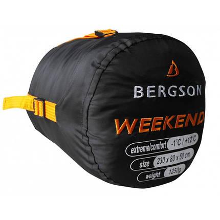 Спальний мішок Bergson Weekend Left, фото 2