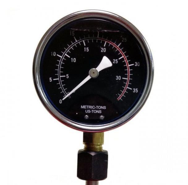 Манометр для пресса гидравлического 40т TORIN MAN-TY40002