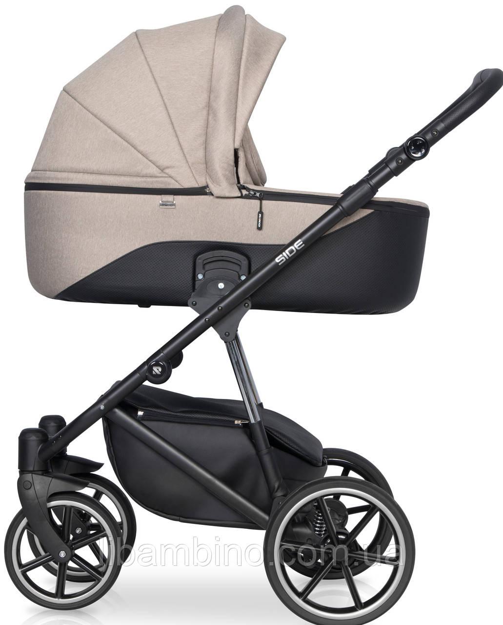 Дитяча універсальна коляска 2 в 1 Riko Side 04 Nugat