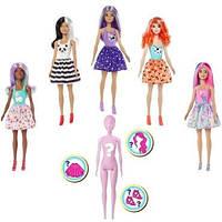Fisher Price. Барби — Кукла Цветное перевоплощение, серия 1 (в ассорт.) (GMT48)