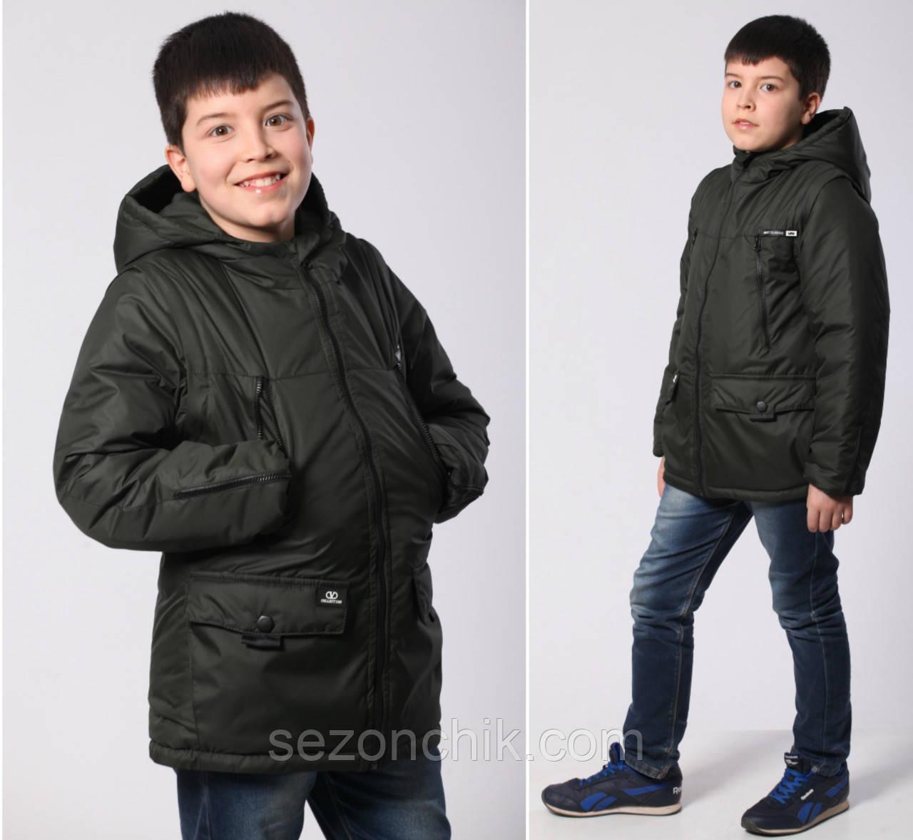 Куртка детская весенняя на мальчика от производителя