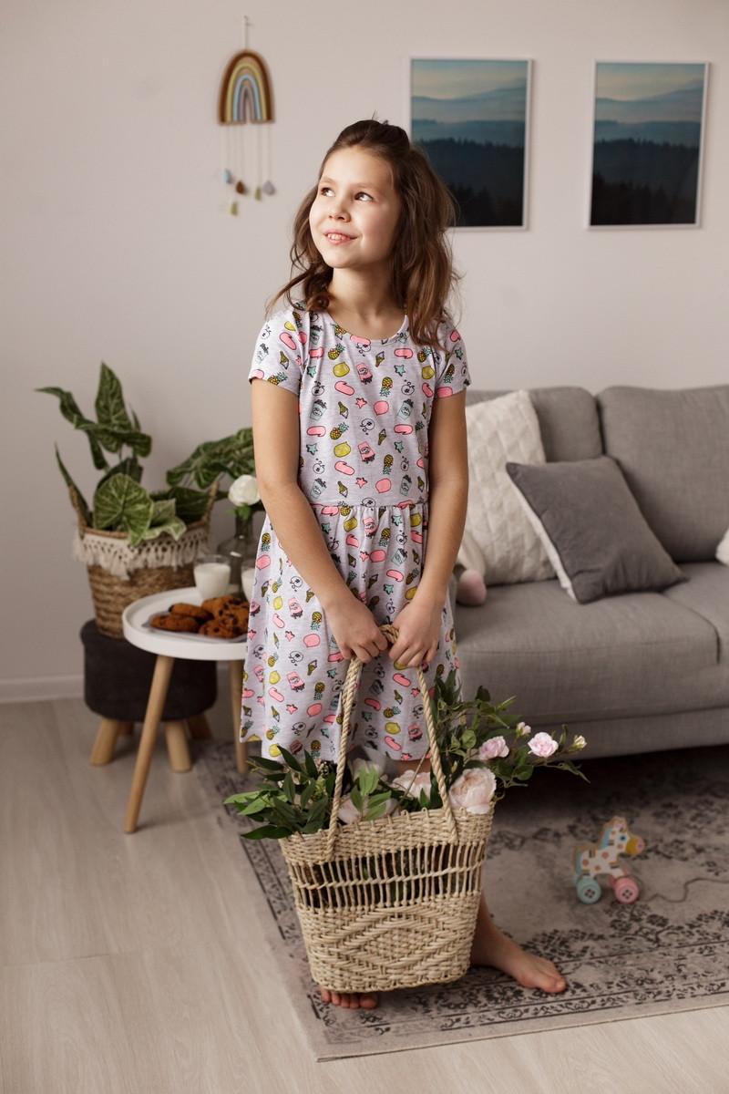 Сарафан  для девочек для дома и отдыха