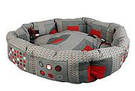 Лежанка для котів і собак Collar Теремок, Манеж №4 4158, 68х58х21 см