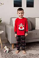 Пижама  Олень  для мальчиков  3-8 лет Tom John 89113