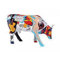 "Коллекционная статуэтка корова ""Picowso's school for the art"""