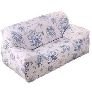 Чехол для кресла дивана натяжной Stenson R26296 90-145 см Белый (008829)