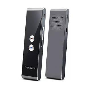 Голосовий електронний перекладач SUNROZ KS-TL328 Translator в режимі реального часу Чорній (SUN3857)