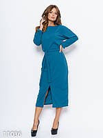 Женское платье Like bombshell с длинными цельнокроенными рукавами