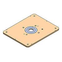 Плита из текстолита CMT INDUSTRIO 999.501.18 для крепления фрезера CMT7E
