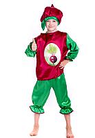 Детский костюм Свекла, Буряк, фото 1