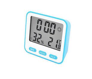 Термометр с гигрометром Plymex 854 Blue (1em_006829)