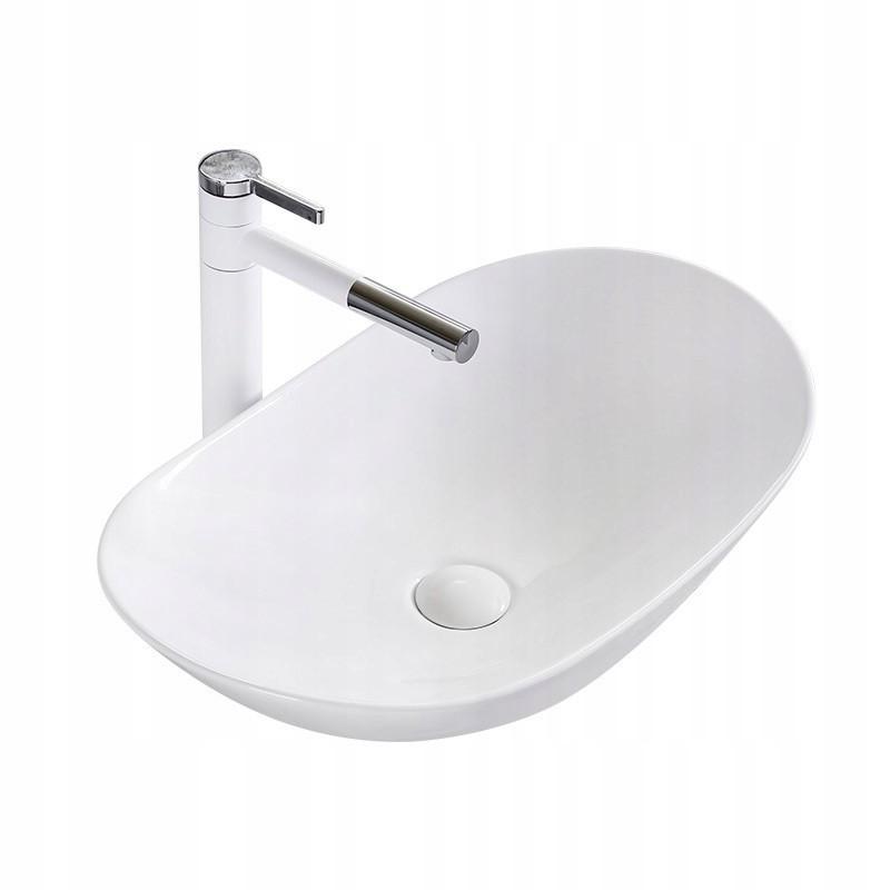 Умывальник Rea Royal 60 35.3 x 61.6 см Белый (hub_VLVn04964)
