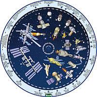 Планисфера (подвижная карта звездного неба). СВЕТЯЩАЯСЯ В ТЕМНОТЕ. +Хронология отеч. Космонавтики