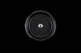 Раковина кругла зі штучного камню Giorgio Group Charlotte 400х400х120 мм Black Onyx (GG0119B1UA01)