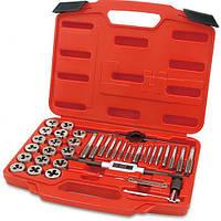 Набор резьбонарезного инструмента TOPTUL 40 ед. М3-М12 JGAI4001