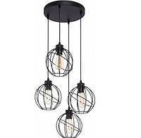 Люстра подвесная TK Lighting 1628 ORBITA BLACK