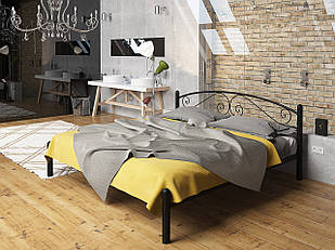 Кровать Виола Tenero 1200х1900 Черный бархат (10000037)