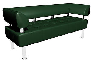 Диван-офис Тонус Sentenzo 1600x600x700 мм Темно-зеленый (236254722)