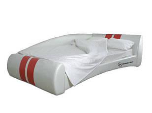 Кровать Формула Sentenzo  800x1900 мм Белый/красный (689381286)