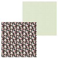 5 Лист двусторонней бумаги для скрапбукинга, коллекция  Маленькая балерина 30х30 см.