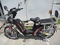 Электро велосипед Заря Силач Серый
