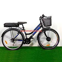 Электровелосипед Mustang Sport 26 дюймов 350W 36V 6 скоростей