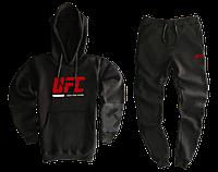 Трикотажный спортивный костюм UFC (premium-class) черный