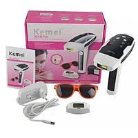 🍓 Подарок девушке, маме, жене! Качественный Лазерный Эпилятор, полный комплект! Фото эпилятор KM 6812   AG410314