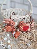 """Набір пасхальний """"Кролик, курочка, сердечко"""", для віночка, для корзини, для декора, 115/95 (ціна за1шт+20гр), фото 5"""