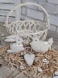"""Набір пасхальний """"Кролик, курочка, сердечко"""", для віночка, для корзини, для декора, 115/95 (ціна за1шт+20гр), фото 7"""