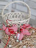 """Набір пасхальний """"Кролик, курочка, сердечко"""", для віночка, для корзини, для декора, 115/95 (ціна за1шт+20гр), фото 8"""