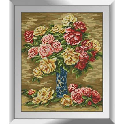 31139 Розы в вазе. Ренуар Набор алмазной живописи, фото 2