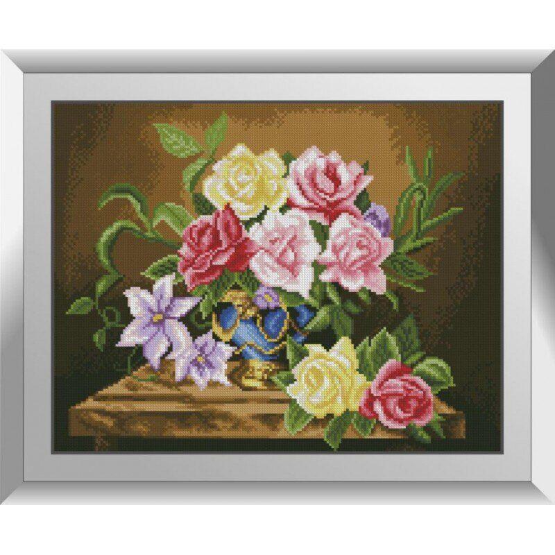 31142 Букет роз Набор алмазной живописи