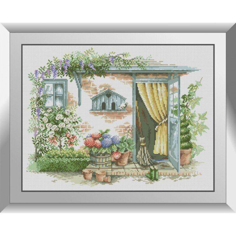 31172 Садова двері Набір алмазної живопису