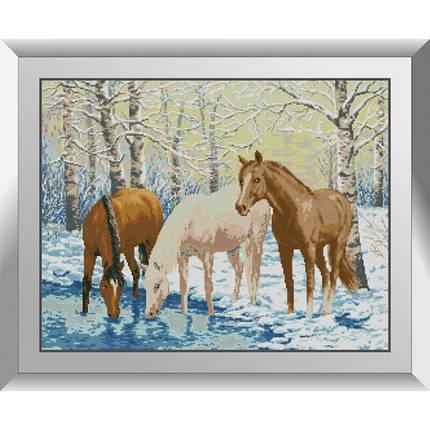 31173 Лошади у реки Набор алмазной живописи, фото 2