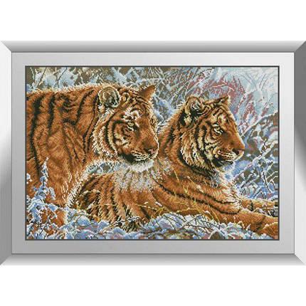 31175 Пара тигров Набор алмазной живописи, фото 2
