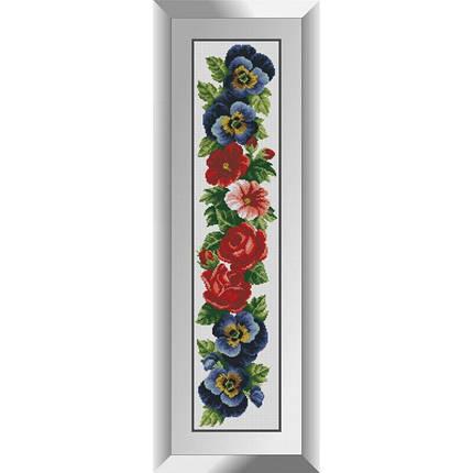 31178 Цветочная панель 2 Набор алмазной живописи, фото 2