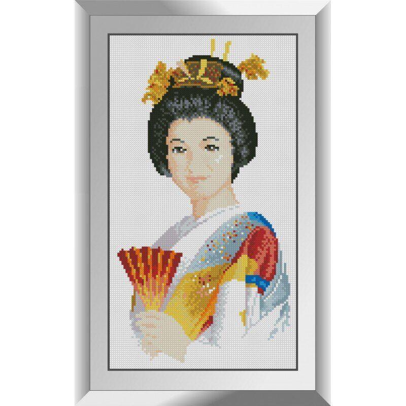 31182 Японская улыбка Набор алмазной живописи