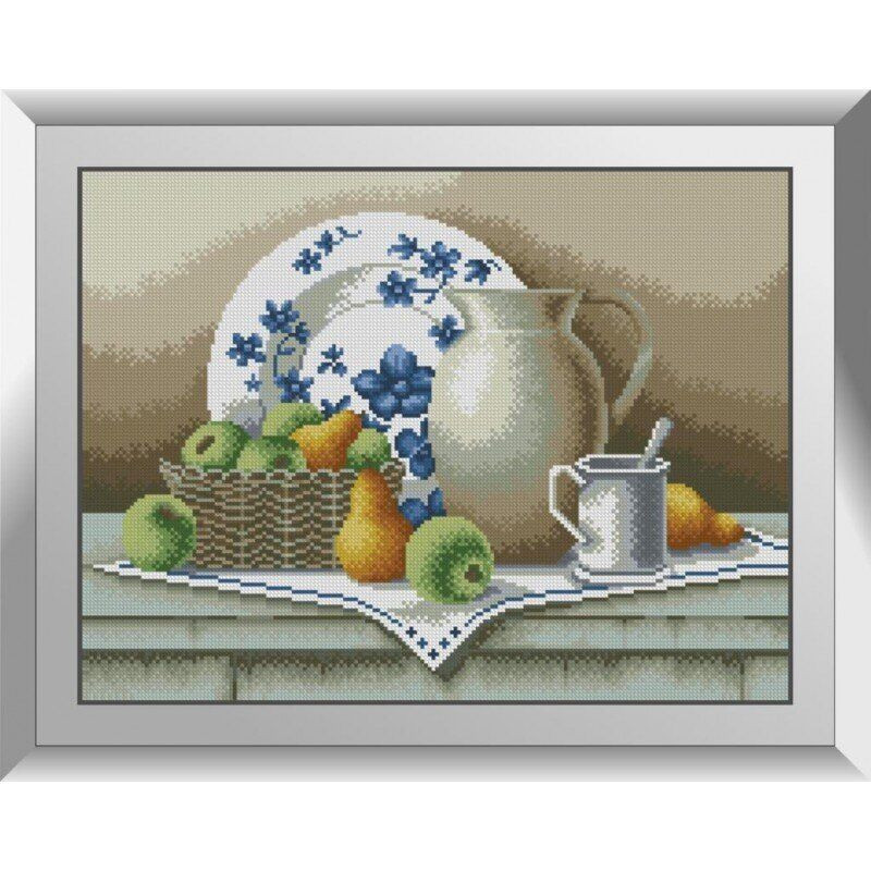 31190 Фарфоровый натюрморт Набор алмазной живописи