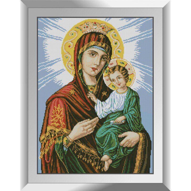 31202 Икона Божией Матери Иверская Набор алмазной живописи