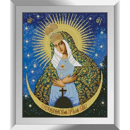 31203 Остробрамская Богоматерь Набор алмазной живописи, фото 2